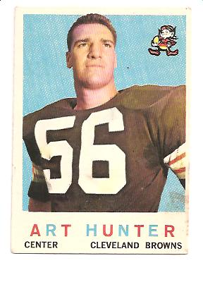 1959 Topps #92 Art Hunter