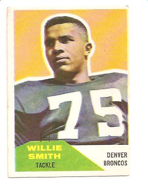 1960 Fleer #47 Willie Smith RC