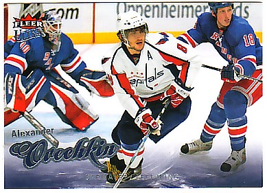2008-09 Ultra #96 Alexander Ovechkin