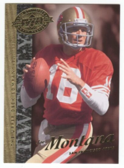 2008 Upper Deck 20th Anniversary Football Joe Montana