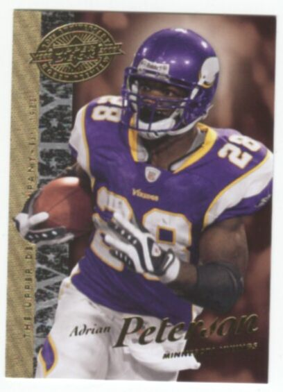 2008 Upper Deck 20th Anniversary Football Adrian Peterson