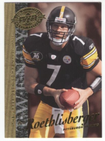 2008 Upper Deck 20th Anniversary Football Ben Roethlisberger