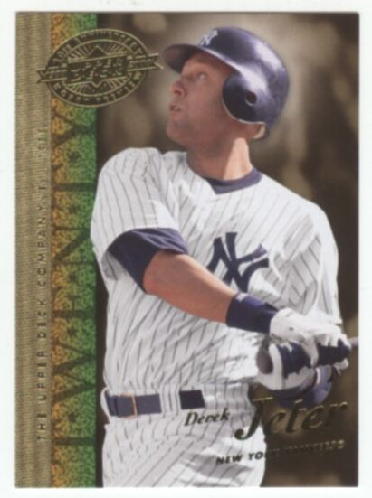 2008 Upper Deck 20th Anniversary Baseball Derek Jeter