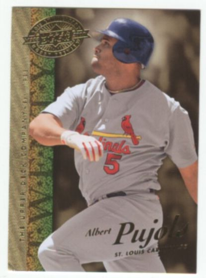 2008 Upper Deck 20th Anniversary Baseball Albert Pujols