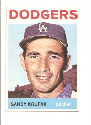 1964 Topps #200 Sandy Koufax