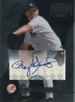 2003 Donruss Signature Cuts #66 Roger Clemens/9