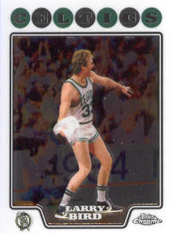 2008-09 Topps Chrome #169 Larry Bird