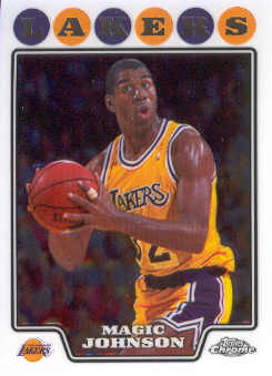 2008-09 Topps Chrome #171 Magic Johnson