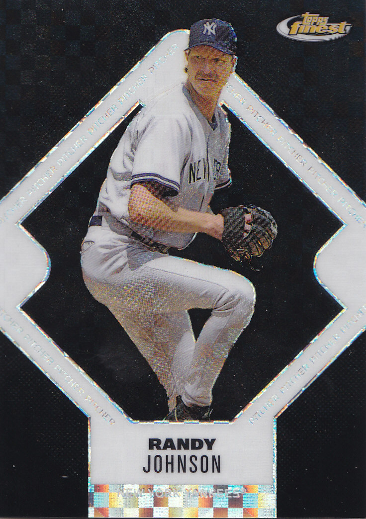2006 Finest X-Fractors Black #86 Randy Johnson