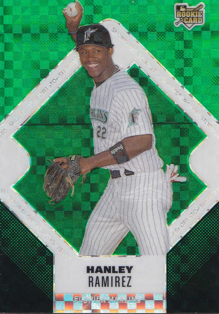 2006 Finest X-Fractors Green #133 Hanley Ramirez