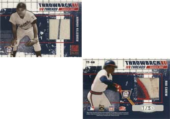 2003 Donruss Elite Throwback Threads Prime #98 Harmon Killebrew/Rod Carew
