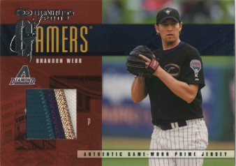 2003 Donruss Gamers Rewards #18 Brandon Webb