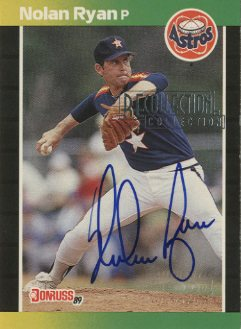 2003 Donruss Recollection Autographs #226 Nolan Ryan 89/6