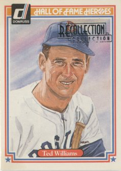 2003 Diamond Kings Recollection #90 Ted Williams 83 HOF/4