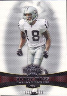 2006 Topps Triple Threads #3 Randy Moss
