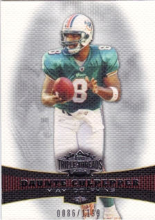2006 Topps Triple Threads #12 Daunte Culpepper