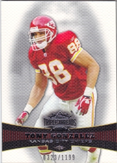 2006 Topps Triple Threads #27 Tony Gonzalez