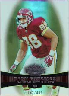2006 Topps Triple Threads Sepia #27 Tony Gonzalez