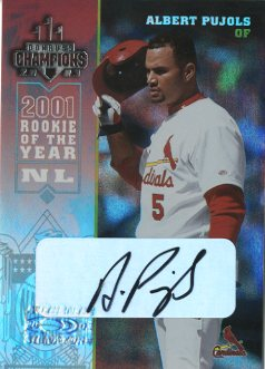 2003 Donruss Champions Autographs #241 Albert Pujols/10