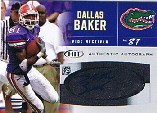 2007 SAGE HIT Autographs Silver #41 Dallas Baker