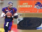 2007 SAGE HIT Autographs Gold #45 Jared Zabransky