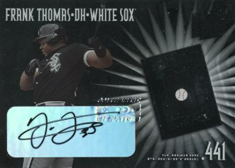 2002 Donruss Best of Fan Club Pure Power Autographs #PP13 Frank Thomas/25