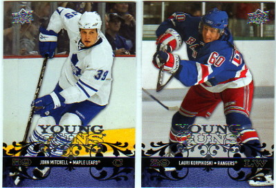 2008-09 Upper Deck #230 Lauri Korpikoski YG RC