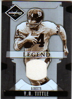 2008 Leaf Limited Threads #199 Y.A. Tittle