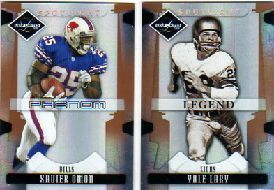 2008 Leaf Limited Bronze Spotlight #300 Xavier Omon