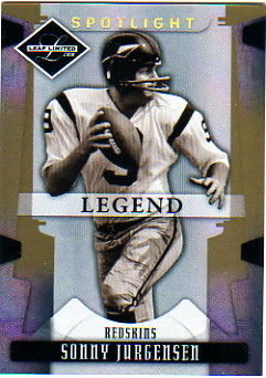 2008 Leaf Limited Gold Spotlight #181 Sonny Jurgensen