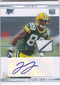 2007 Topps Performance Rookie Autographed Relics #115 James Jones G