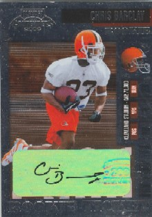 2006 Playoff Contenders #175 Chris Barclay AU RC