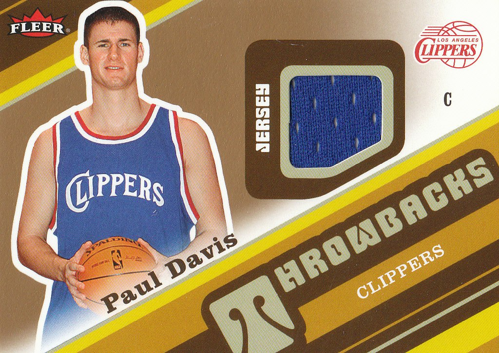 2006-07 Fleer Throwbacks #PD Paul Davis front image