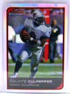 2006 Bowman Chrome Refractors #138 Daunte Culpepper