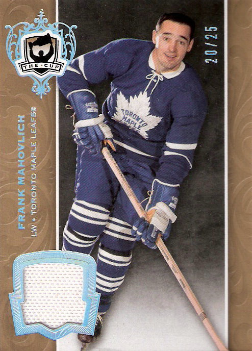 2007-08 The Cup Gold Jerseys #9 Frank Mahovlich