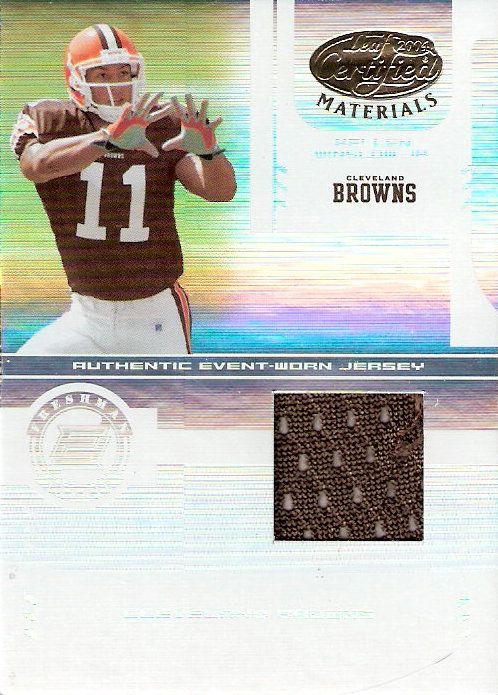 2004 Leaf Certified Materials #211 Kellen Winslow JSY RC