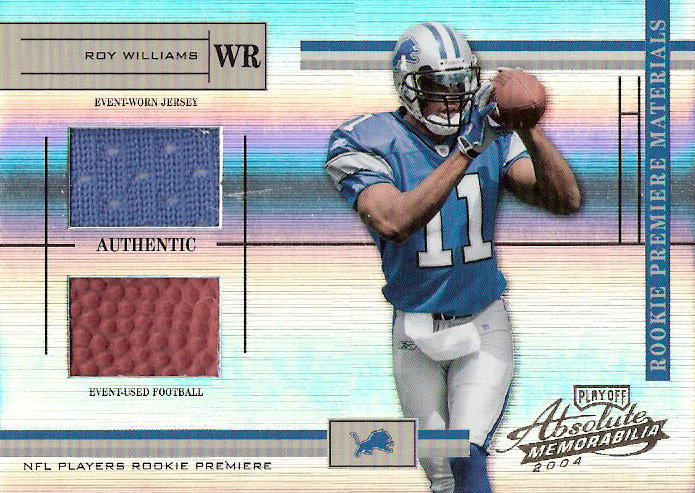 2004 Absolute Memorabilia #217 Roy Williams RPM RC