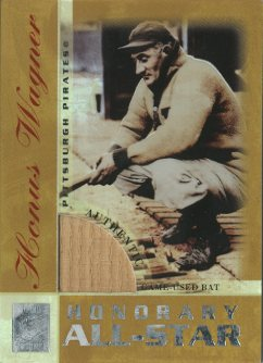 2003 Topps Tribute Perennial All-Star Relics Gold #HW Honus Wagner Bat