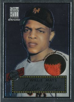 2001 Topps Chrome Originals #6 Willie Mays