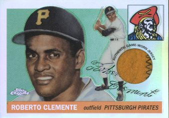 2001 Topps Chrome Originals Refractors #1 Roberto Clemente