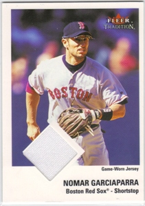 2003 Fleer Tradition Game Used #351 N.Garciaparra Jsy SP/200