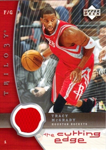 2005-06 Upper Deck Trilogy The Cutting Edge #TM Tracy McGrady
