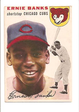 1954 Topps #94 Ernie Banks RC