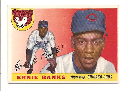 1955 Topps #28 Ernie Banks