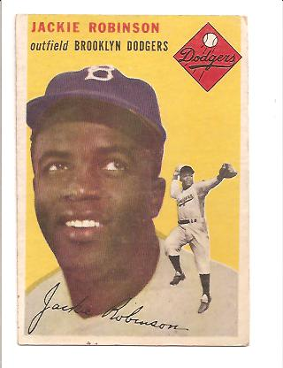 1954 Topps #10 Jackie Robinson