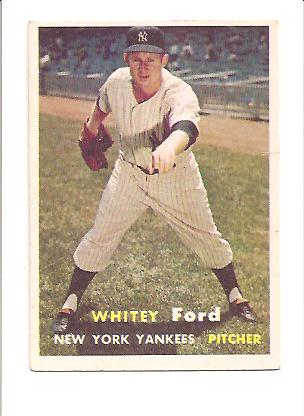 1957 Topps #25 Whitey Ford