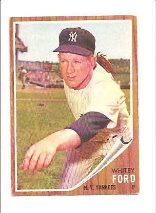 1962 Topps #310 Whitey Ford