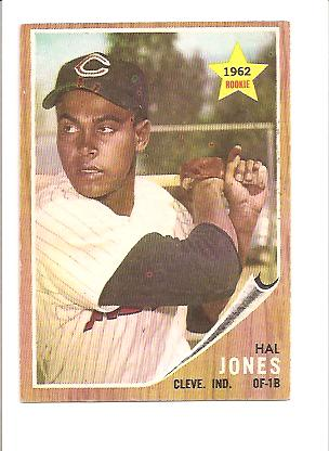1962 Topps #49 Hal Jones RC