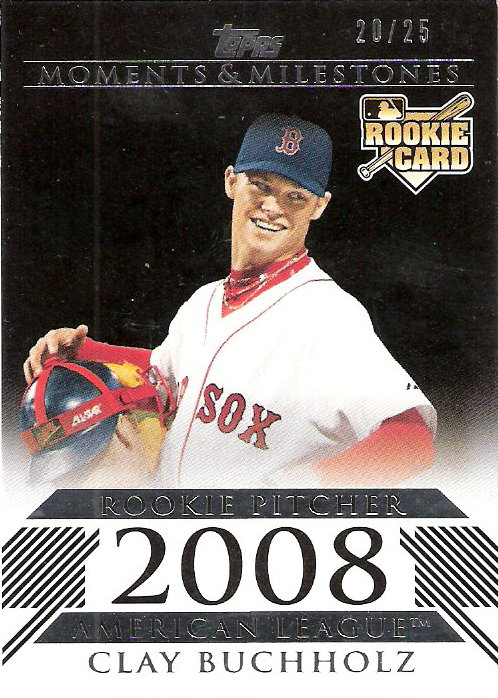 2008 Topps Moments and Milestones Black #153 Clay Buchholz