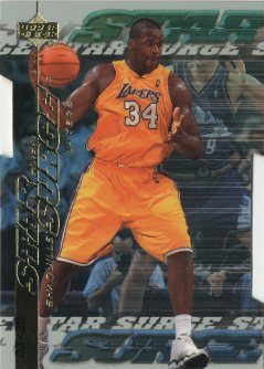 1999-00 Upper Deck Star Surge Level 2 #S9 Shaquille O'Neal front image